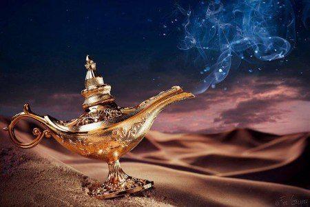 La Lampe d'Aladin...