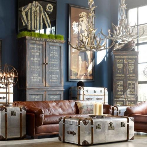 De mooiste Woonwinkel van Twente: www.potzwonen.nl   Timothy Oulton Globetrekker Lamp table-Aero - Furniture
