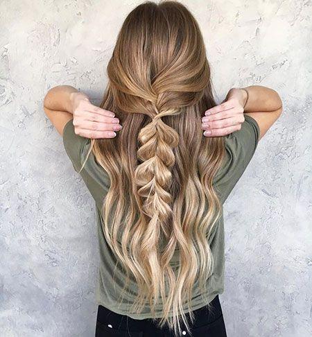 Derfrisuren.top 20 cute simple hairstyles for long hair simple Long hairstyles Hair Cute
