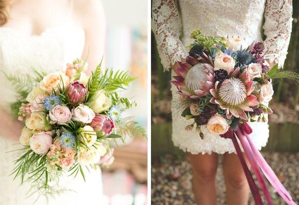 20 Gorgeous Protea Wedding Bouquets | SouthBound Bride