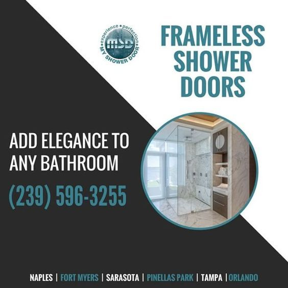 Frameless Shower Doors Add Elegance To Any Bathroom Contact Us