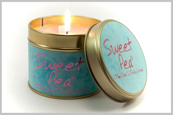 Geurkaarsen - Scented candles - Sweet pea
