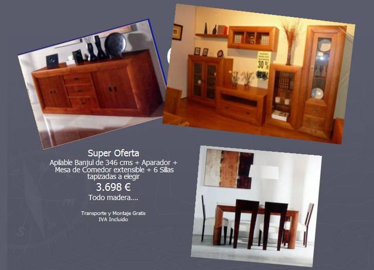 Mueblesmadrid mueblessal n - Ofertas de muebles de salon ...