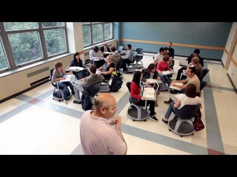 The University of Michigan takes a fresh approach to their classrooms, implementing a strategy that includes engagement, collaboration and flexibility. A variety of classroom set-ups and solutions offer students a variety of classroom experiences. Each incorporating collaborative tools and technology.