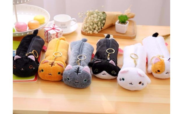 Cases & Pencil Cases – Kawaii Kitty Cat Pencil Case, Cute Pencil Pouch – a…