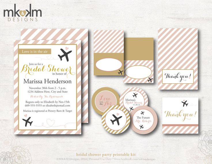 Brides Wedding Invitation Kits: 1000+ Ideas About Gold Bridal Showers On Pinterest