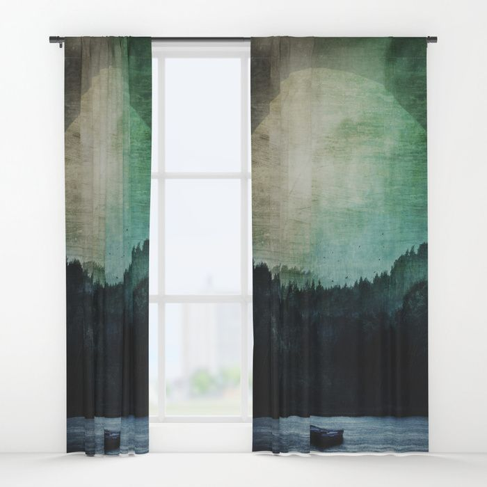 Great mystical wilderness Window Curtains by HappyMelvin | Society6