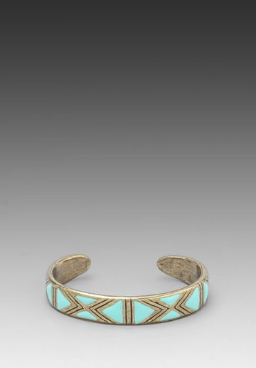 DREAM COLLECTIVE Astrid Cuff in Turquoise at Revolve Clothing - Free Shipping!