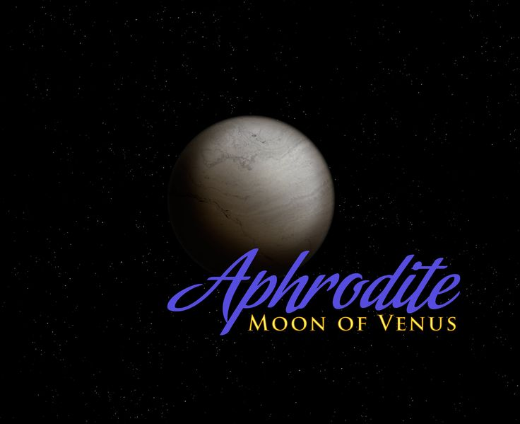 Aphrodite: New Moon Orbiting Venus?