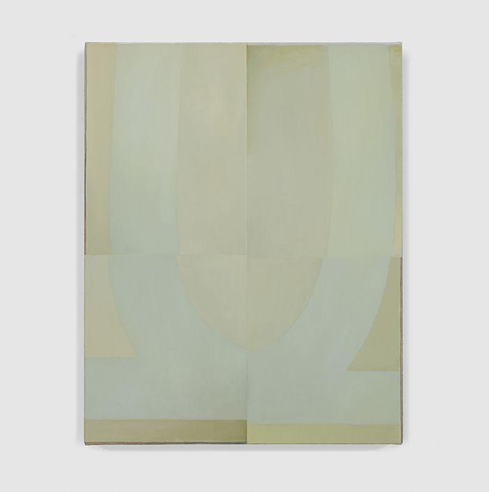 """NATHLIE PROVOSTY   Techniques of Recognition. Oil on linen, 19"""" x 15"""" (48 x 38 cm), 2016."""