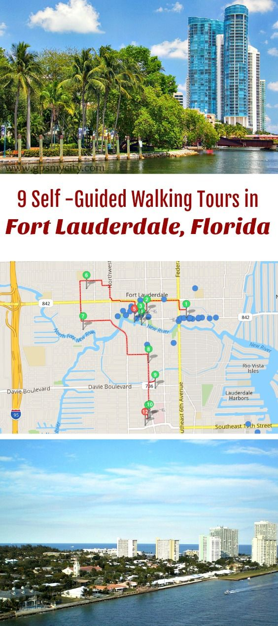 designed self guided walking tours in Fort