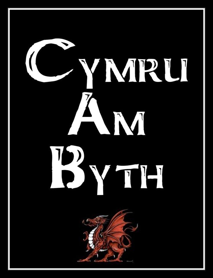 Cymru Am Byth.  Long live Wales.