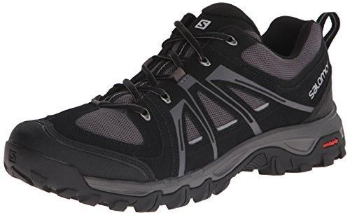 Oferta: 89.99€ Dto: -40%. Comprar Ofertas de Salomon L37688300 Zapatillas de senderismo Hombre, Negro, 42 2/3 barato. ¡Mira las ofertas!