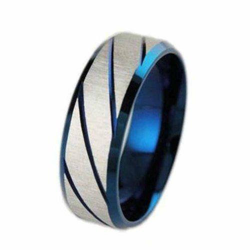 MoAndy Jewellery Titanium Stainless Steel Men's Fashion Ring Stripes Patterned Blue US Size 9 MoAndy http://www.amazon.com/dp/B00KGUI08I/ref=cm_sw_r_pi_dp_oxwaub06CHDH3