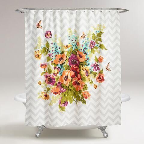 Floribunda Shower Curtain | World Market
