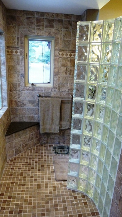 19 best Quality Glass Block - Showers images on Pinterest | Glass ...