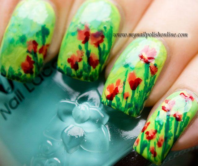 Mejores 243 imágenes de Arte en uñas en Pinterest | Uñas bonitas ...