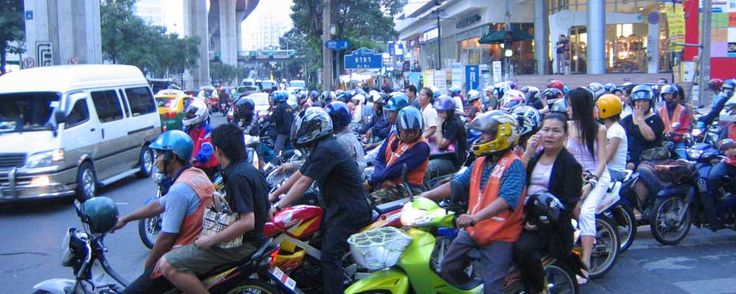 Uber launches on-demand motorbike service in Thailand