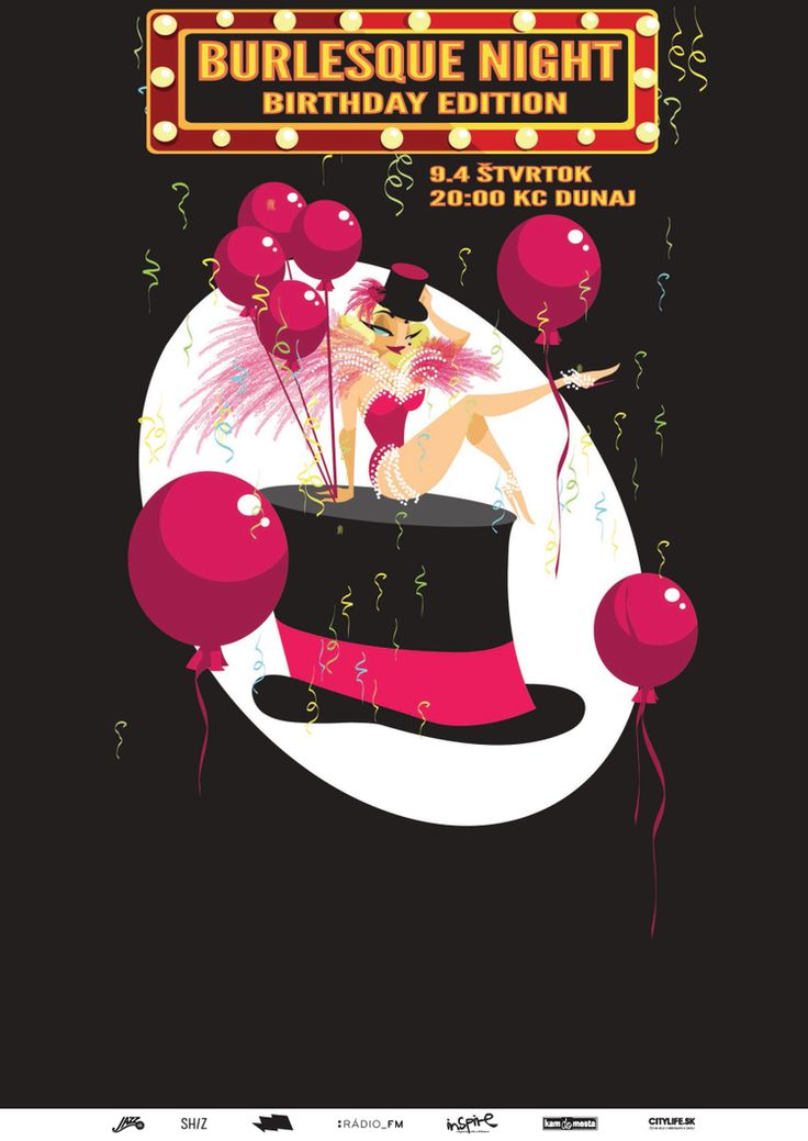 Our Burlesque Academy is already 1 year old! Can you imagine? <3