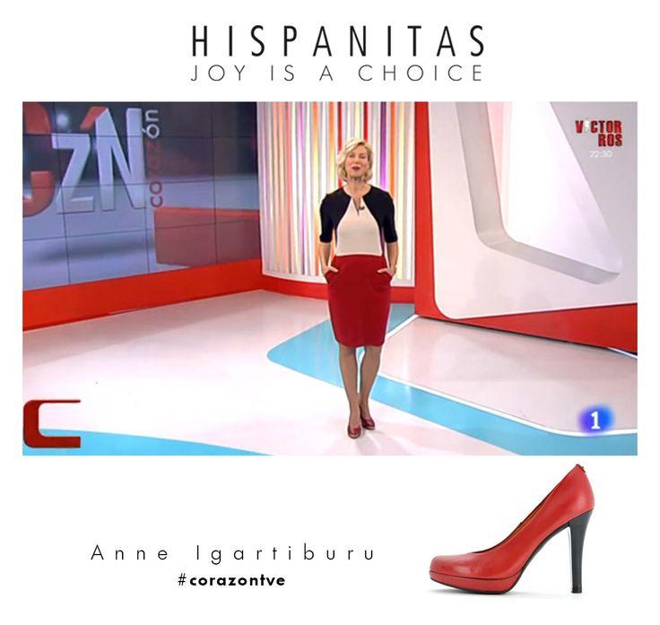 Anne Igartiburu vuelve a elegir Hispanitas para presentar su programa #corazontve.