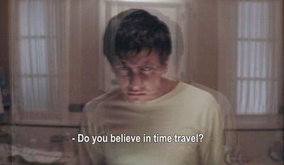 quote movie subtitles jake gyllenhaal donnie darko film still Time ...
