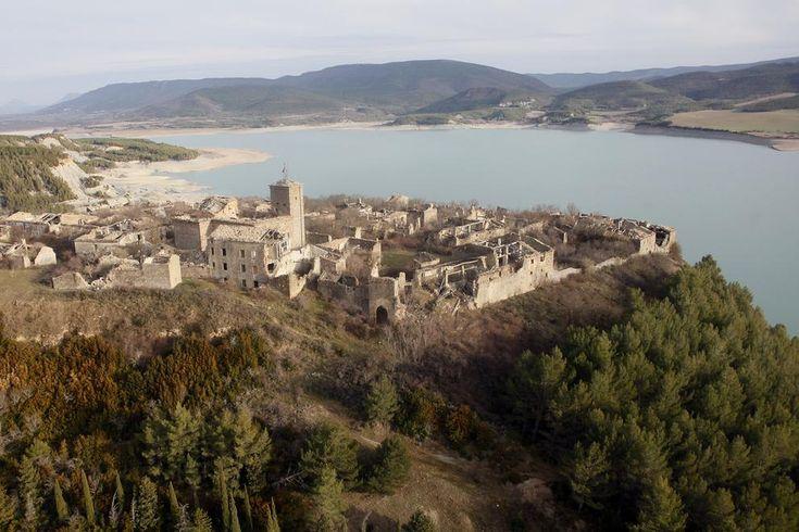 Pueblo abandonado de Tiermas