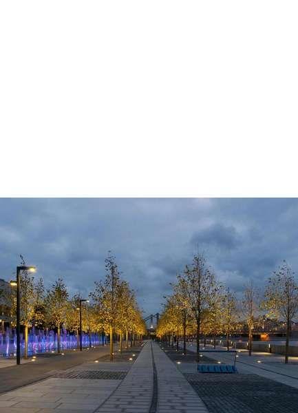 un nuovo parco urbano lungo le rive della moscova