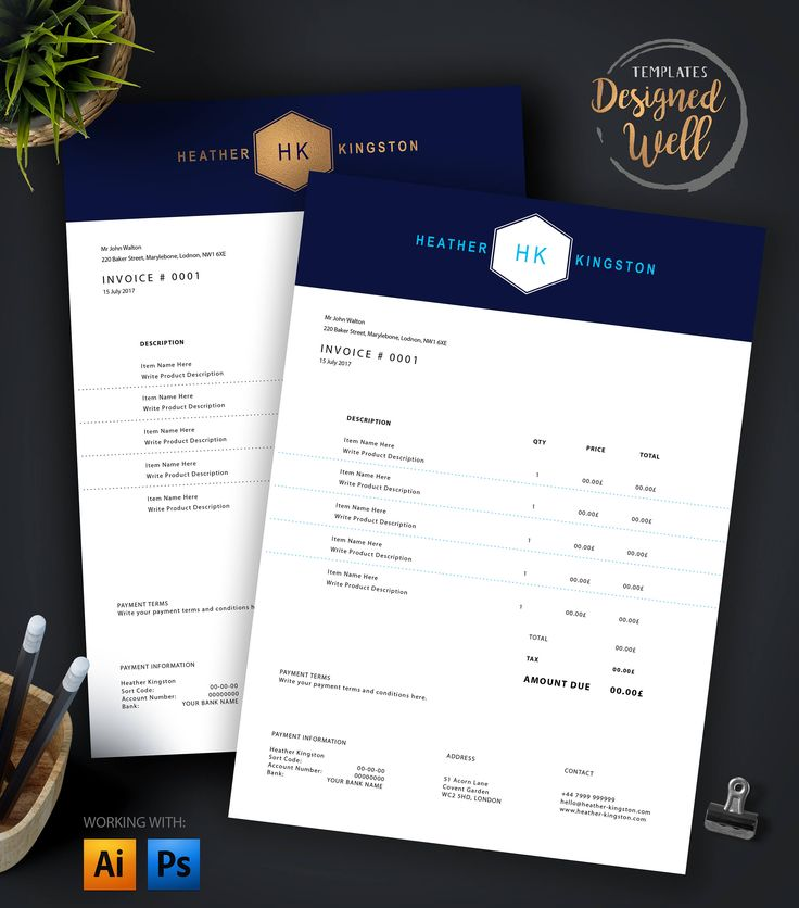 How To Send An Invoice For Freelance Work Pdf Best  Invoice Design Ideas On Pinterest  Invoice Layout  Seneca Tax Receipt Excel with Invoice Number Generator Pdf Invoice Template  Creative Invoice Design  Photoshop  Illustrator  Din  A  Us Letter How To Organize Tax Receipts Word