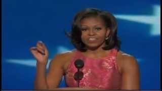 Michelle Obama's full DNC speech, via YouTube.