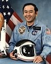Ellison Onizuka received the medal July 23, 2004 for STS-51-L (died aboard Challenger) medal given by President George W Bush.