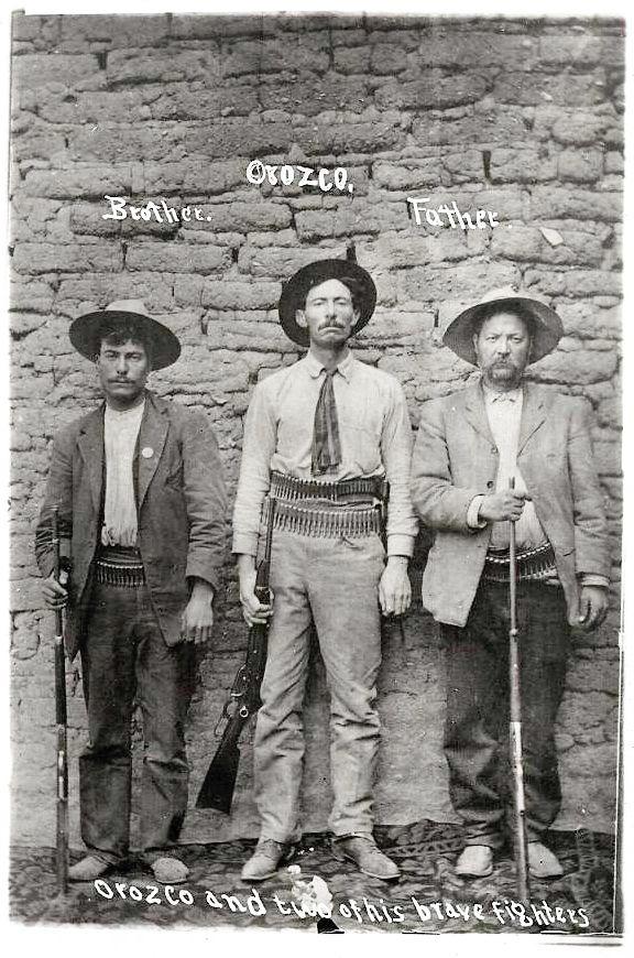 1910 México » Líder Revolucionario Pascual Orozco Vázquez.