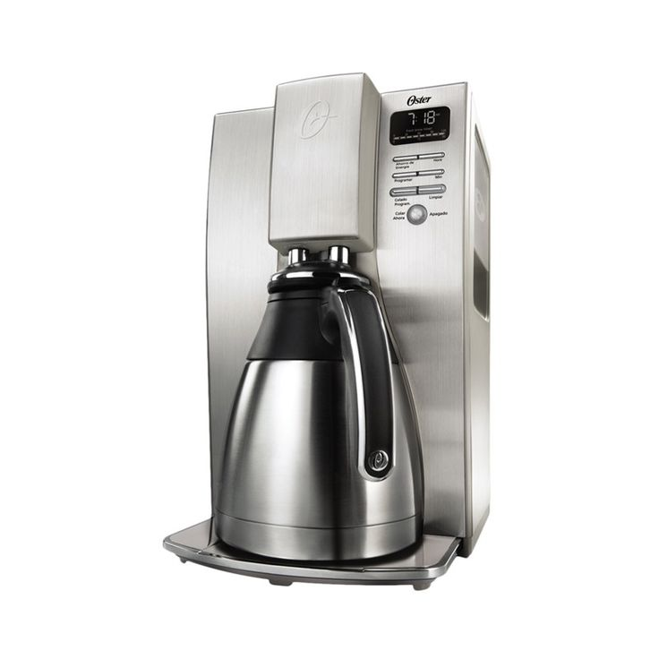 Cafetera Oster Térmica Programable 10 tazas, acero inoxidable!