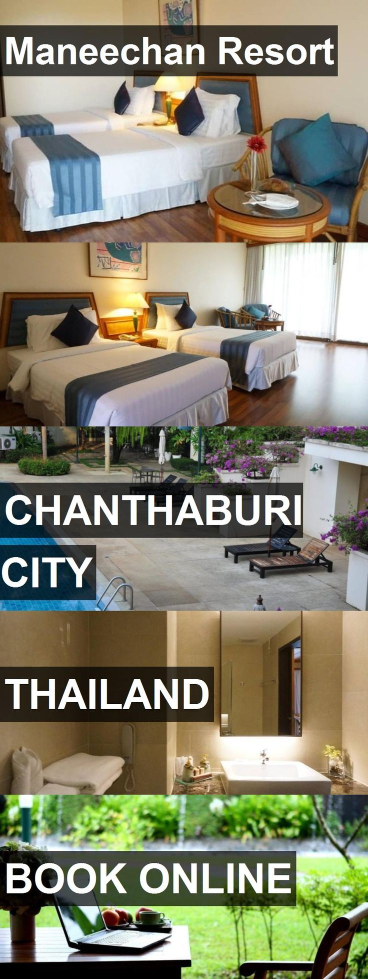 Hotel Maneechan Resort in Chanthaburi City, Thailand. For more information, photos, reviews and best prices please follow the link. #Thailand #ChanthaburiCity #hotel #travel #vacation