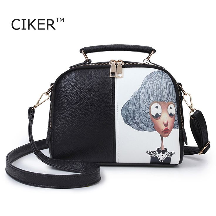 Cheap bag handbag, Buy Quality bag double directly from China bag shoulder Suppliers: CIKER Fashion printing women leather handbag famous brands women messenger bags women bag pouch bolsos high quality female bag