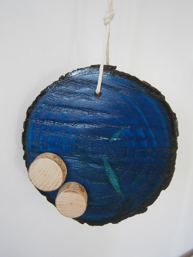 Wood slice recycling, plaster drewna #wood #recycling