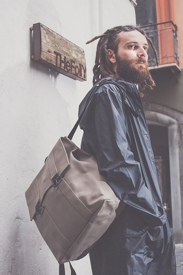 THeFollY Friends // Frank in Rains // Rains minimal #backpack