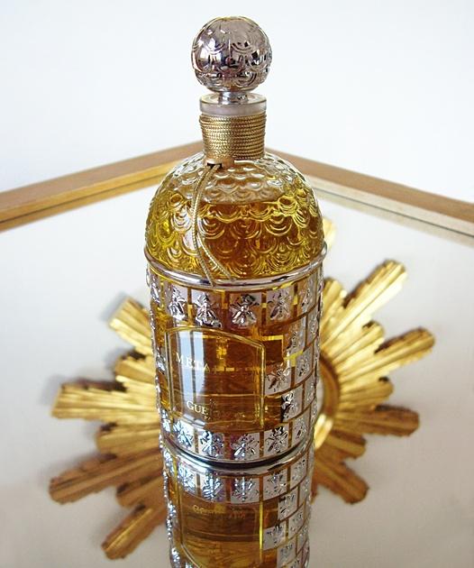 Guerlain Metallica original perfume bottle    via basenotes