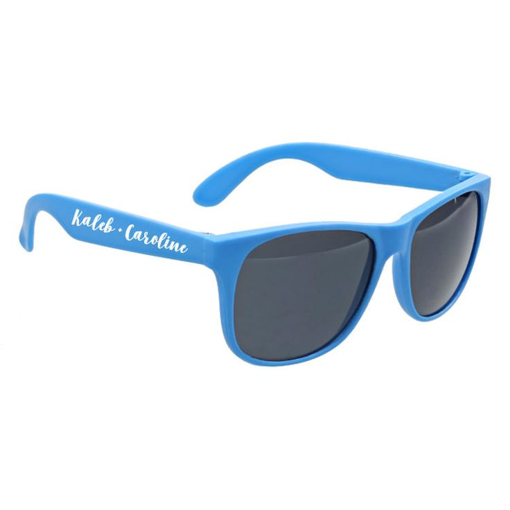Check out this customizable product from www.totallypromotional.com//wedding-favors-and-reception/wedding-sunglasses/tropic-wedding-sunglasses.html