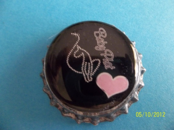 Baby Phat Bottle Caps For Hairbows by ang744 on Etsy, $4.75
