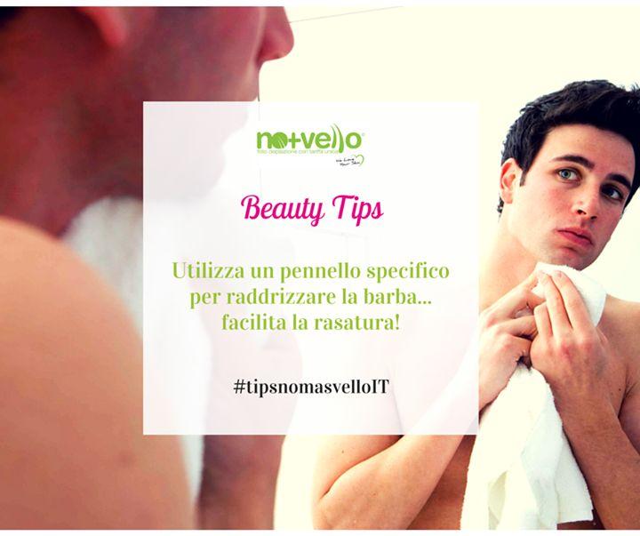 Barba maschile e rasatura perfetta... ecco il nostro consiglio di oggi Emoticon heart #tipsnomasvelloIT