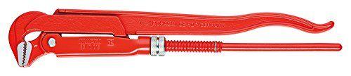 KNIPEX 83 10 040 Rohrzange 90� rot pulverbeschichtet 750 mm