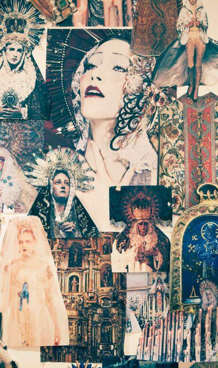 Marchesa f/w 2012 inspiration board.