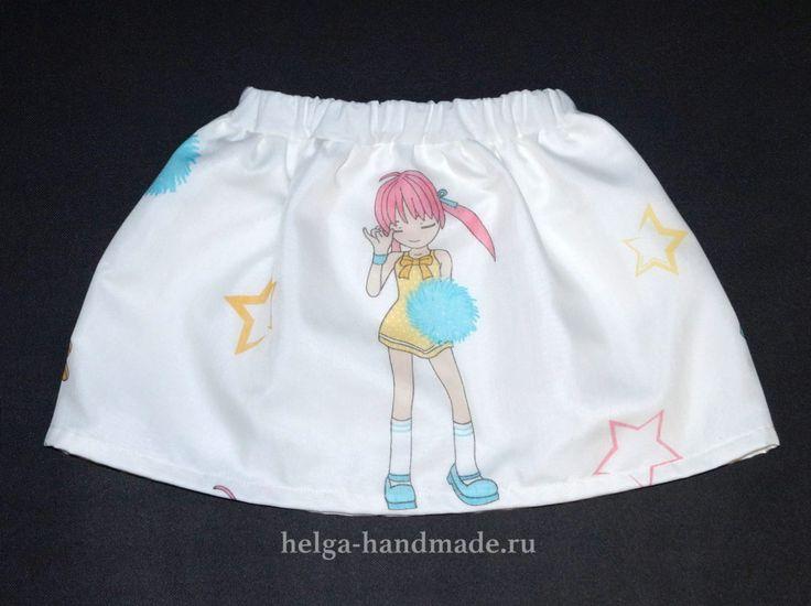 Модные летние юбки для девочек своими руками, мастер-класс