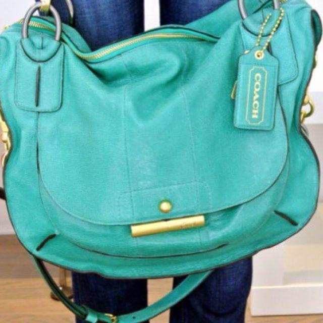Tiffany Blue Coach Purse My Style Pinterest Purses Handbags And