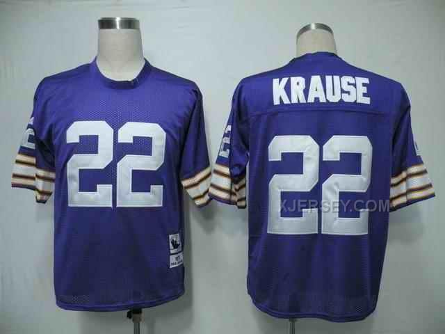 http://www.xjersey.com/minnesota-vikings-22-krause-purple-mn-jerseys.html MINNESOTA VIKINGS 22 KRAUSE PURPLE M&N JERSEYS Only $34.00 , Free Shipping!