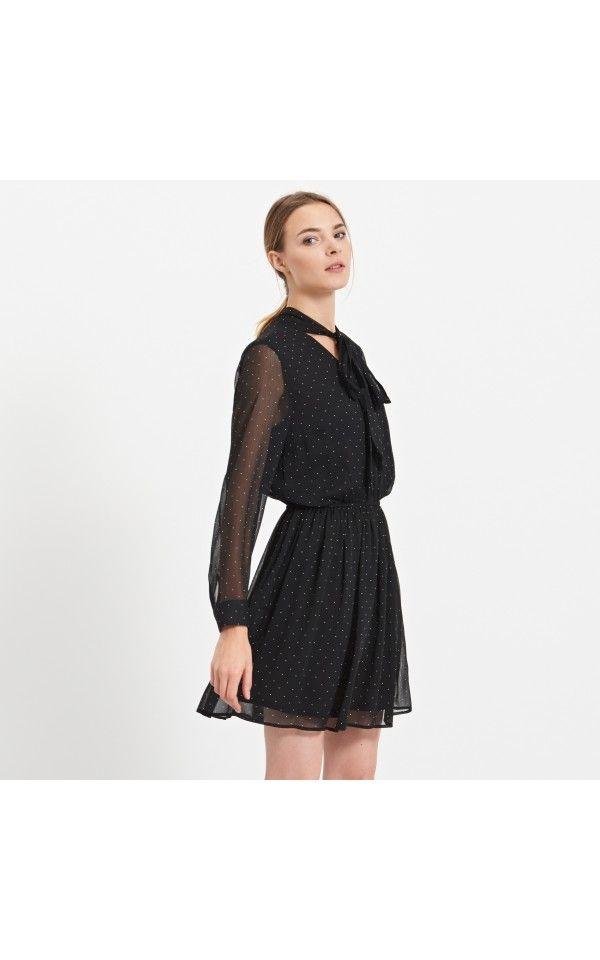 Sukienka w kropki, SUKIENKI, wielobarwny, RESERVED