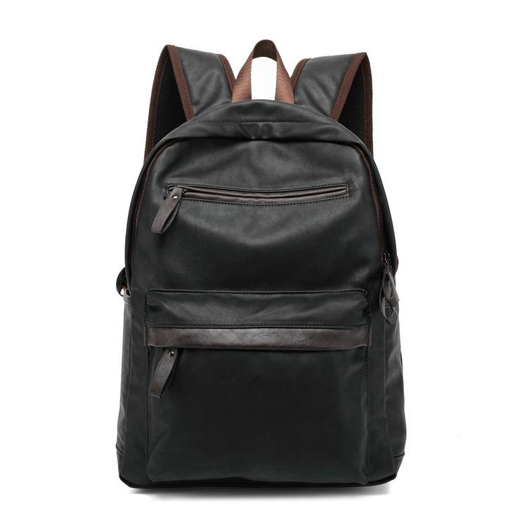 "Multifunction men backpack fashion youth korean style shoulder bag 14"" laptop backpack schoolbags for teenager girls boys #Affiliate"