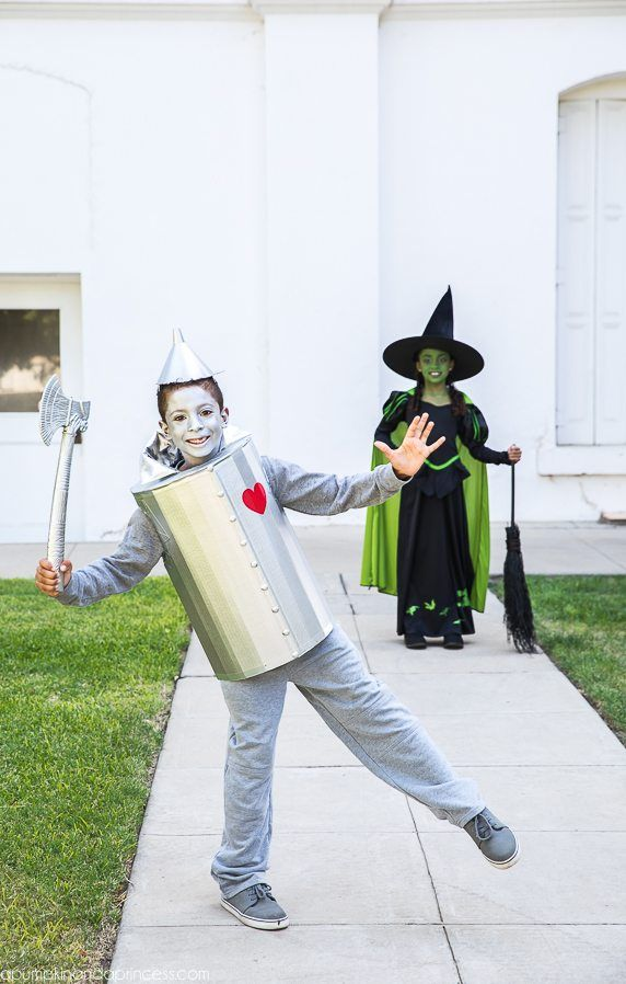 Diy Tin Man Costume For Kids How To Make A Tin Man Costume Out Of A Cardboard Box Creative Bo Diy Tin Man Costume Tin Man Halloween Costume Tin Man Costumes