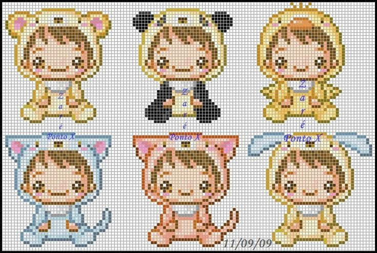 Ridiculously cute cross stitch