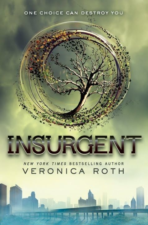 Insurgent by Veronica Roth, YA F Rot